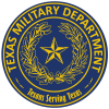 Texas Military Department Logo (Two color)