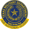 Texas Air National Guard Logo (2 Color)
