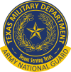 Texas Army National Guard Logo (2 Color)