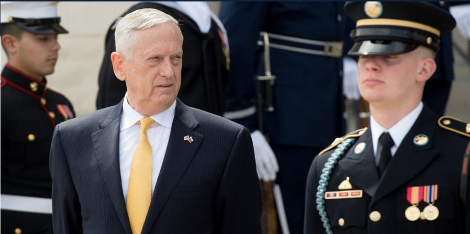 Mattis OKs up to 4,000 National Guard troops for border -