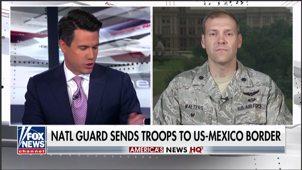Texas National Guard officer talks securing the border -