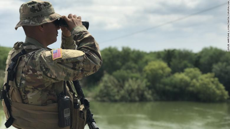 Texas National Guard Arrives in Del Rio Sector -