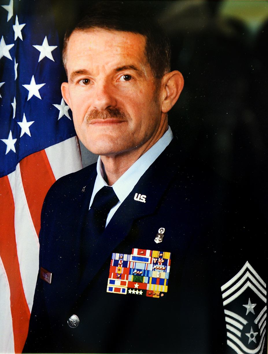 Air Force Chief Master Sgt. Harold L. Higgings Jr.
