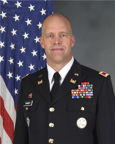 Col. Gregory P. Chaney Chief of Staff, Office of the Adjutant General