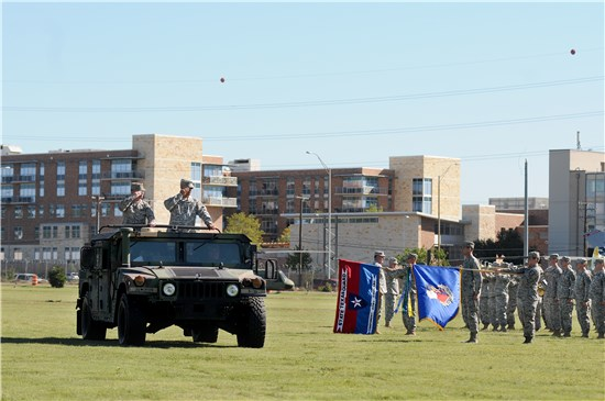 "On Saturday, Oct. 4, 2014, Brig. Gen. Gerald ""Jake"" Betty took command of the Texas State Guard (TXSG) from Maj. Gen. Manuel ""Tony"" Rodriguez  at a change of command ceremony at Camp Mabry in Austin, Texas."