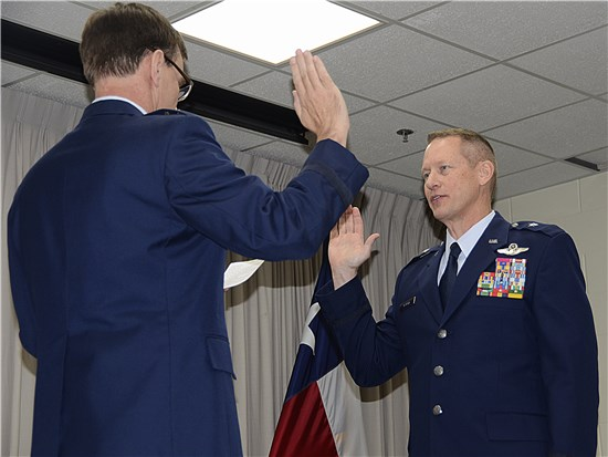 Adjutant General of Texas, Maj. Gen. John F. Nichols, is pleased to announce the promotion of Col. David McMinn, Texas Air National Guard Chief of Staff, to the rank of Brigadier General.