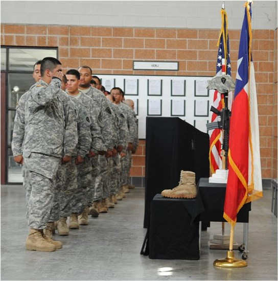 Texas National Guard armories, located in Weslaco and Laredo each hosted a ceremony this week to honor a few of our Texas brothers in arms who made the ultimate sacrifice while supporting operations overseas.