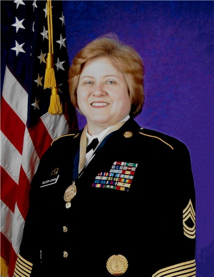 Retired Master Sgt. Theresa M. Billeck-Zuniga, of Austin, will be inducted into the Texas Military Forces Hall of Honor program