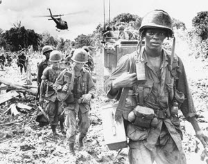 U.S. Army Soldiers conduct a patrol in Vietnam during the height of the Vietnam War. (Photo Courtesy of Department of Defense)