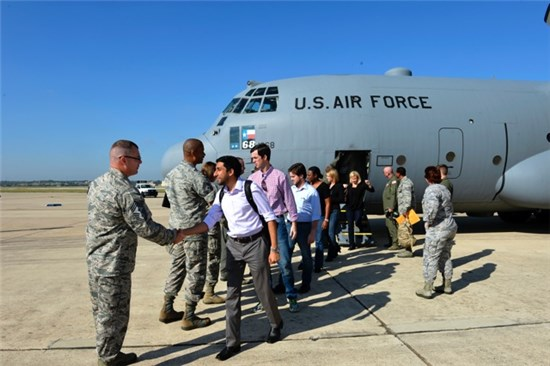 149th Fighter Wing, at Joint Base San Antonio-Lackland, Texas, Oct. 15, 2015