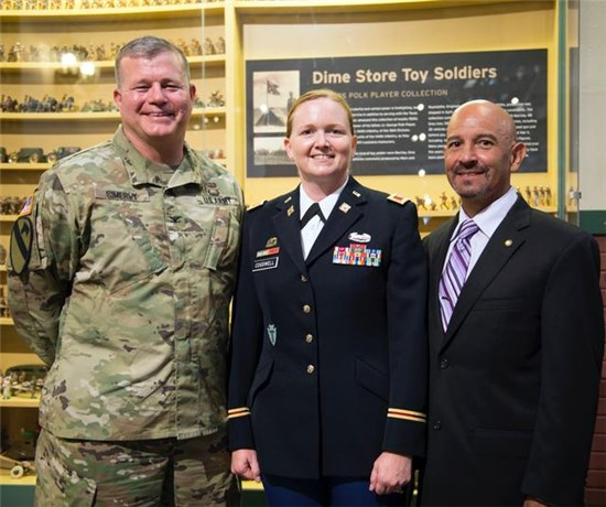 Adjutant General of Texas, Maj. Gen. John F. Nichols, is pleased to announce the promotion of Texas Army National Guard Lt. Col. Theresa K. Cogswell, Chief Information Officer-Army, to the rank of Colonel