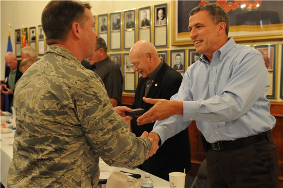 Service members and former general officers attend the inaugural conference of the Council of Retired Executives in the Texas Military Forces Museum at Camp Mabry, Texas, Aug. 6.