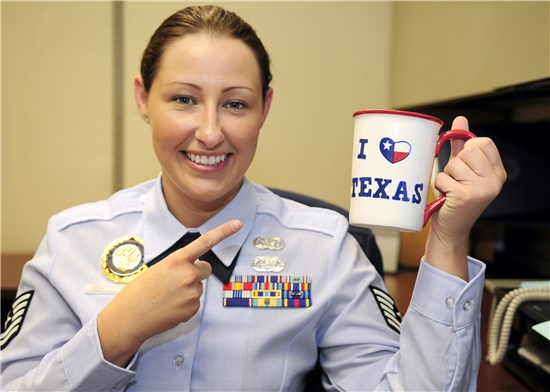 Texas Recruiter named best in the Air Guard
