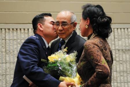 Photo of Air Force Lt. Col. Don Nguyen Wedding