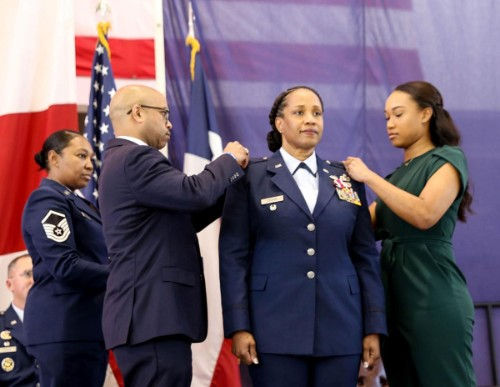 Marshallite achieves high honor as first African American Colonel for 147th Attack Wing
