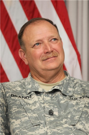 Command Sergeant Major Brandt leaves joint legacy