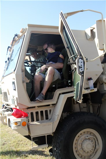 In this image, Round Rock youths enjoy the military tactical vehicles during the city's annual Touch a Truck event, held Oct. 25, 2014, at Old Settlers Park.