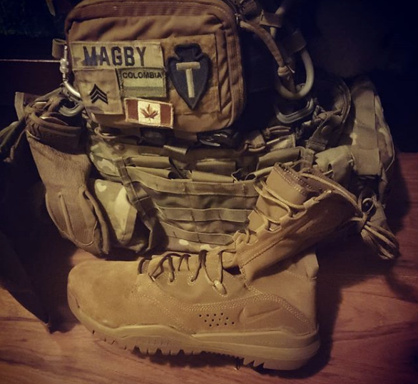 Rucksack. (Courtesy Photo: Sgt. Benjamin Magby)