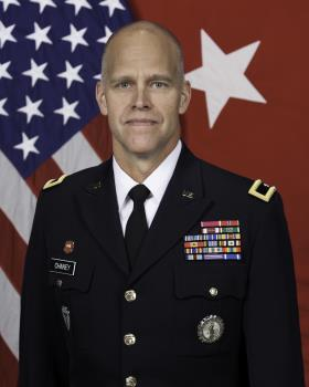 Brigadier General Greg Chaney is the Deputy Adjutant General - Army for the Texas National Guard