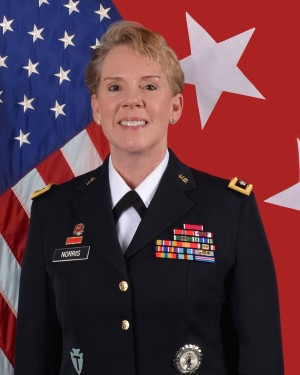 Major General Tracy R. Norris is the Adjutant General of Texas.