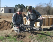 TXSG participated for the first year in the AG LMG Competition Photo by Texas Military Forces