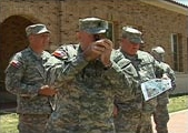 TXSG soldiers participate in GIS/GPS training Photo by KCDB, NewsChannel 11, Lubbock, Texas