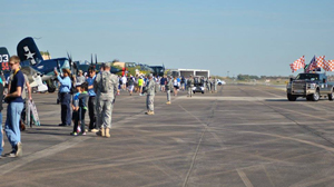 Flight line safety