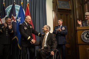 Col. Dan Flynn was promoted to the rank of brigadier general (TX-Brevet)