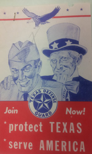 Texas Defense Guard (Texas State Guard files, Camp Mabry Museum, Austin, Texas)
