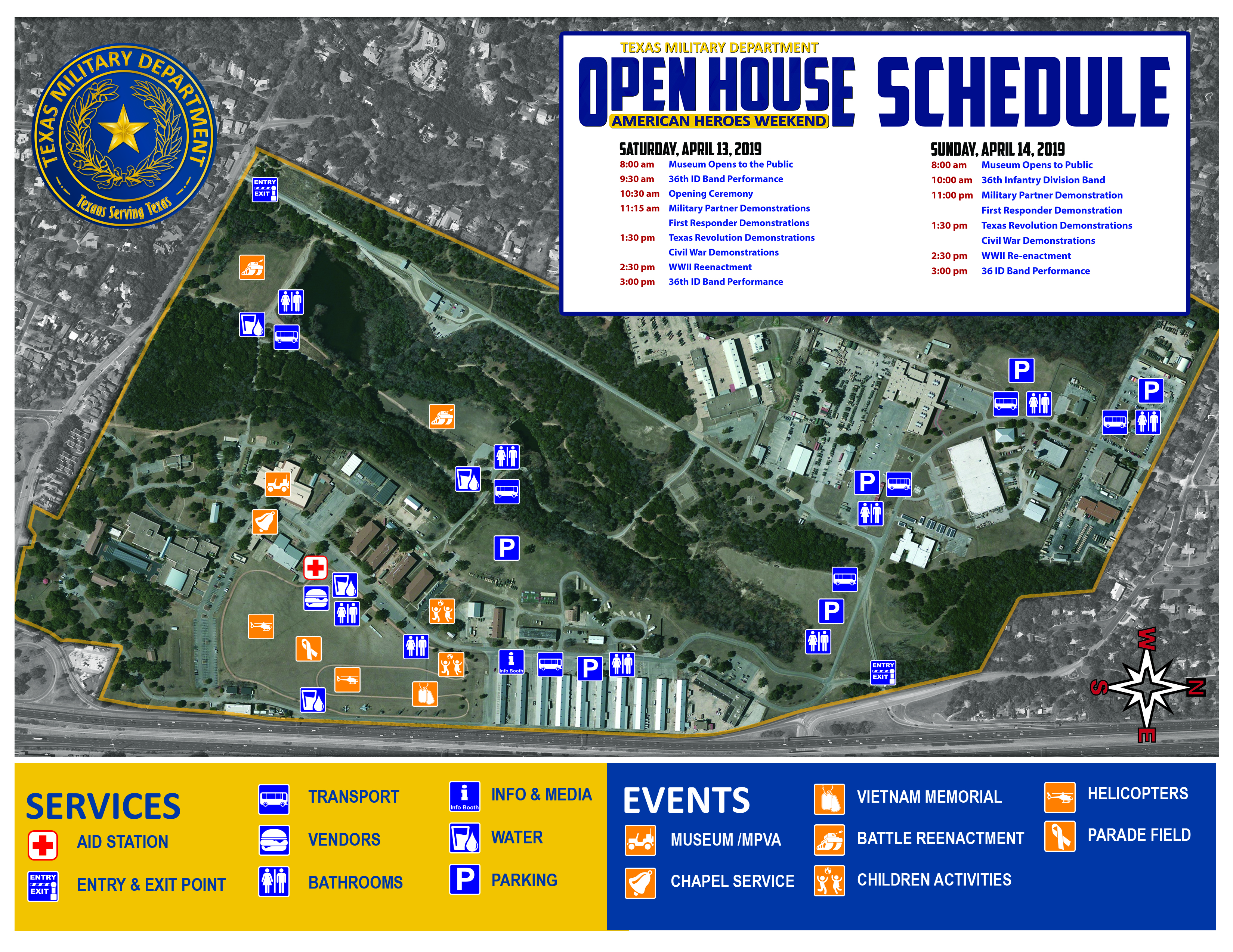 TMD Open House MAP