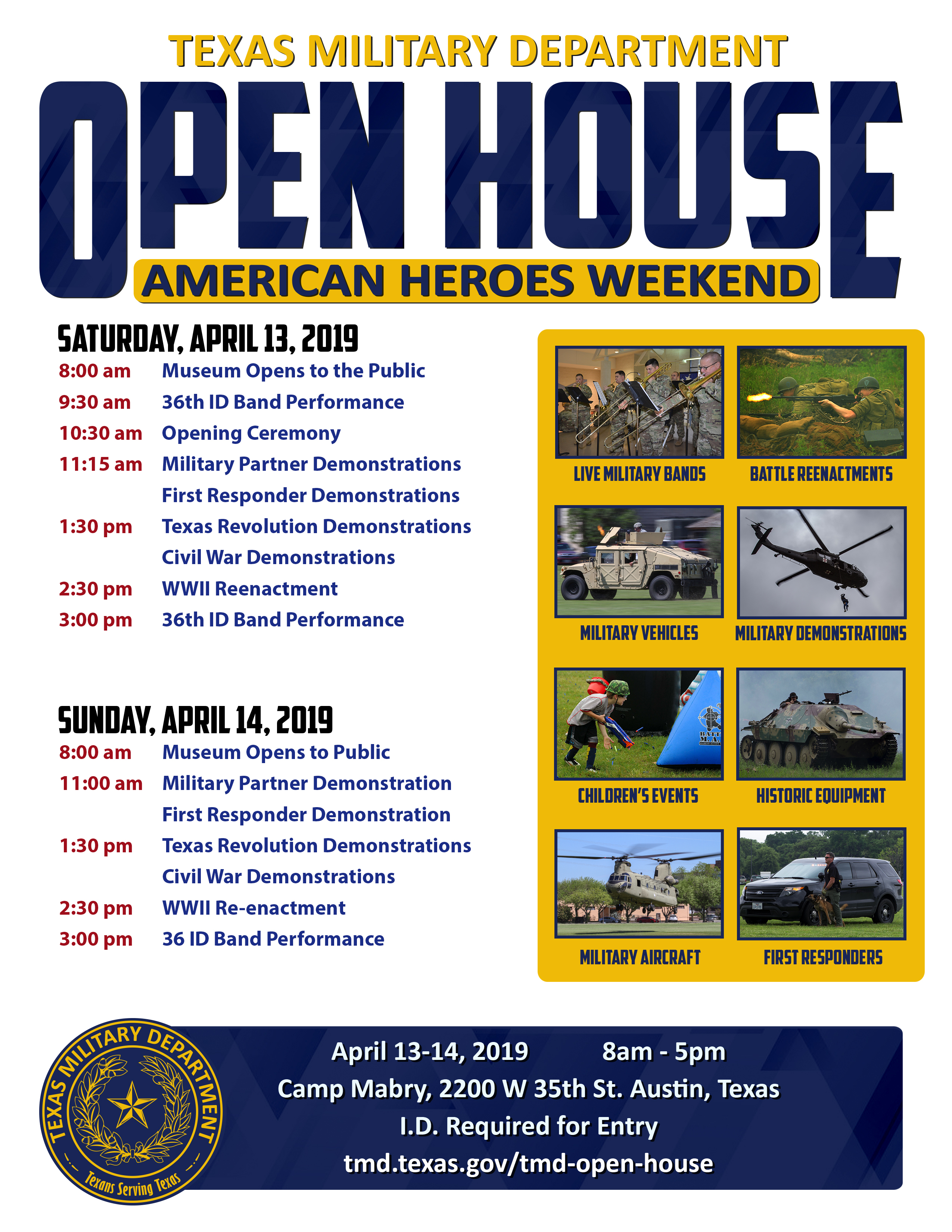 TMD Open House - 2019