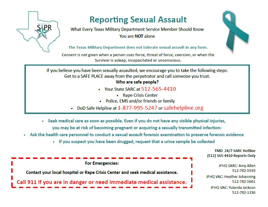 Reporting Sexual Assault