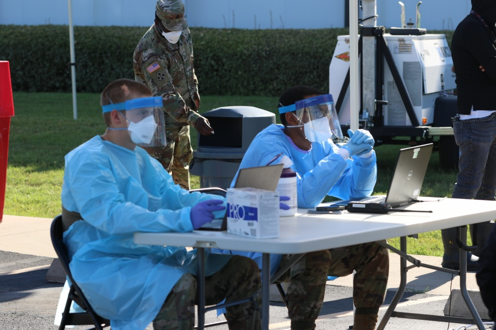 Texas Military Department Continues to Provide COVID-19 Testing Throughout Texas -