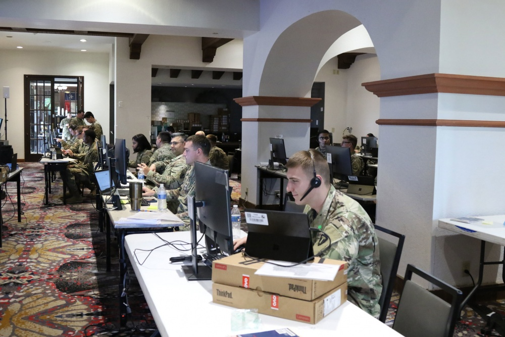 Texas Military Department COVID-19 Call Center  -