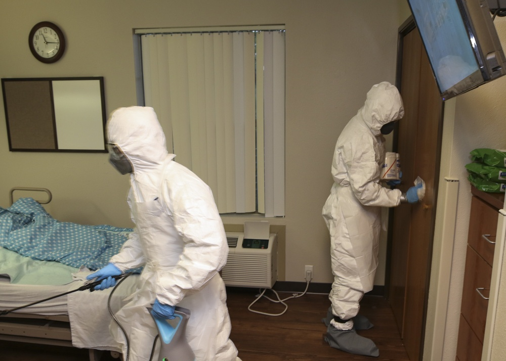National Guard Soldiers begin nursing home disinfection mission -