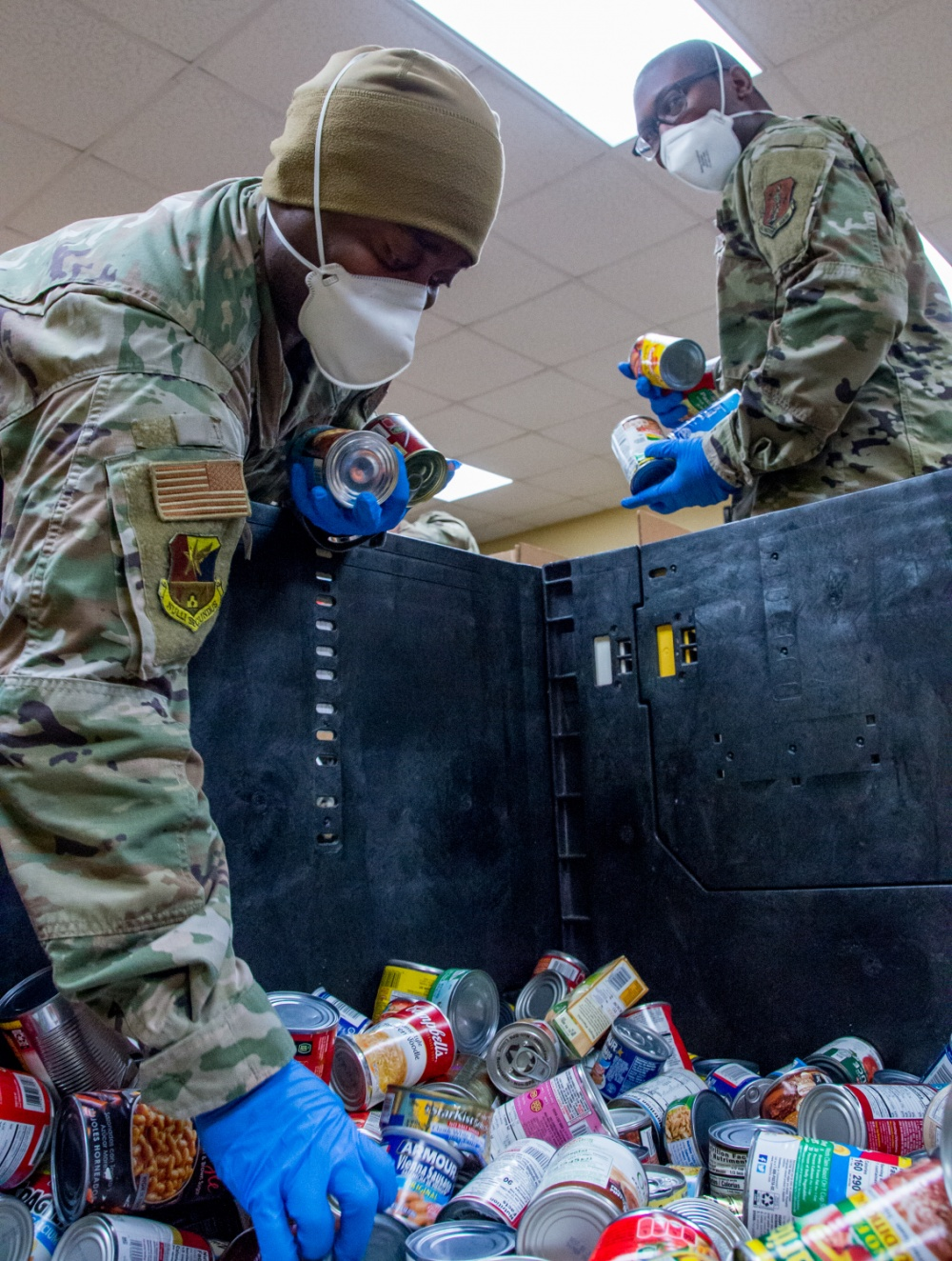 Texas Airmen serving during COVID-19 -