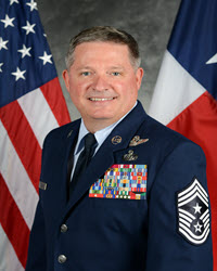 CMSgt. Christopher Castle SENIOR ENLISTED ADVISOR TEXAS AIR NATIONAL GUARD