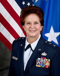 Maj. Gen. Dawn Ferrell  Deputy Adjutant General-Air for the Texas Military Department