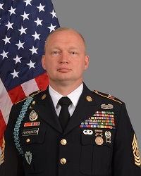Jason D. Featherston Texas Army National Guard Senior Enlisted Advisor