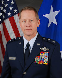 Maj. Gen. David McMinn Texas Air National Guard Commander