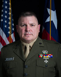 SgtMaj BRYAN BECKNEL SENIOR ENLISTED ADVISOR TEXAS STATE GUARD