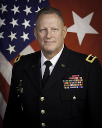 BRIG. GEN. PATRICK M. HAMILTON COMMANDER DOMESTIC OPERATIONS