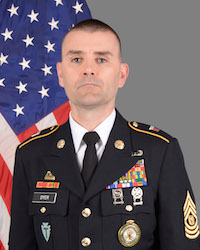 Kristopher L. Dyer Texas Army National Guard Senior Enlisted Advisor