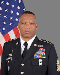 CSM JOHN F SAMPA COMMAND SENIOR ENLISTED LEADER TEXAS MILITARY FORCES