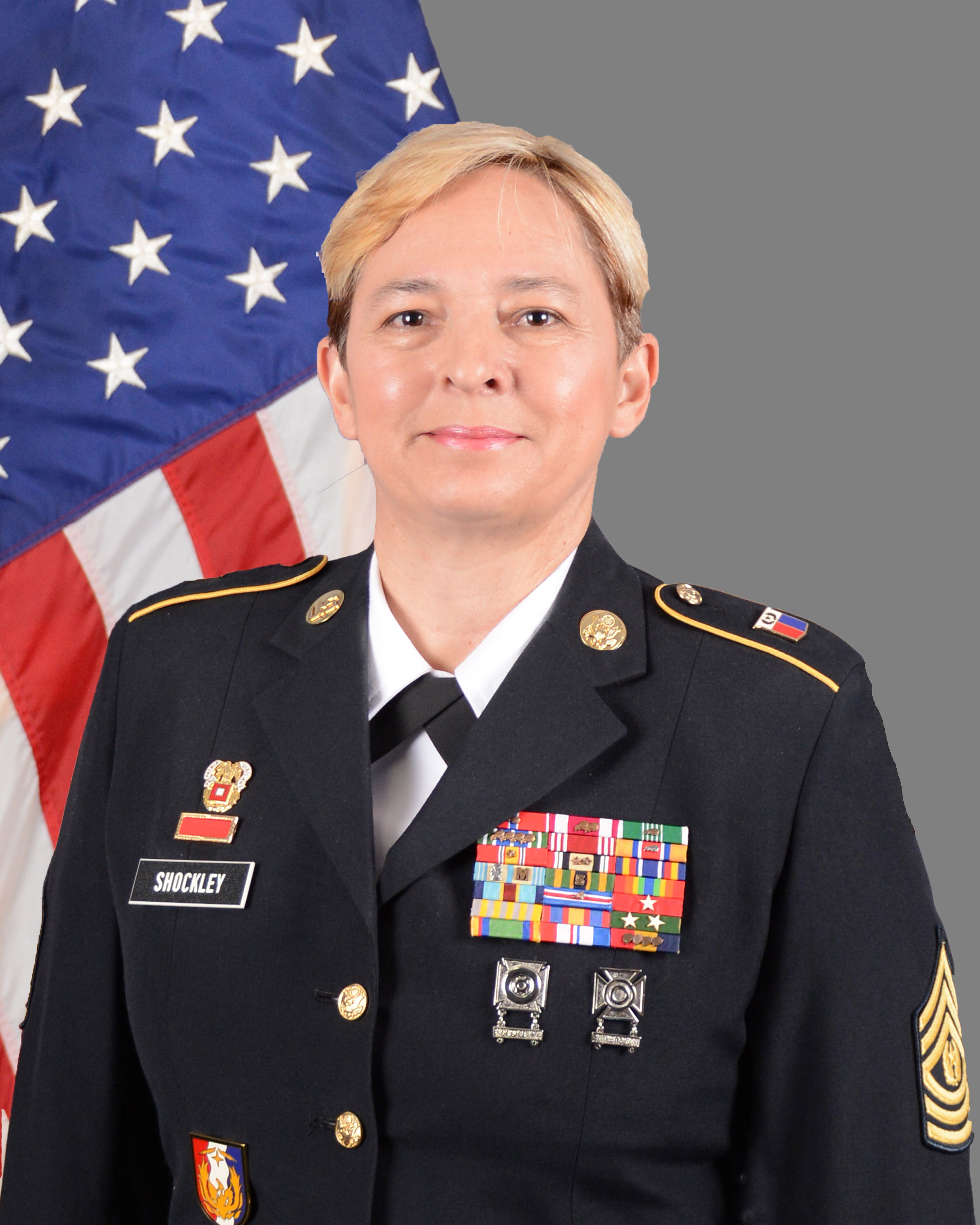 Command Sgt. Maj. Elizabeth Shockley SENIOR ENLISTED ADVISOR DOMESTIC OPERATIONS