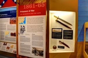 Civil War exhibit